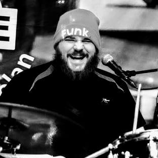 Ola Högberg, drummer in the band