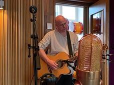 Matz records acoustic guita